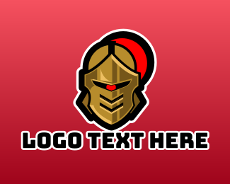 Knight - Cyclops Knight Esports Gamer logo design