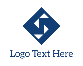 Container - Blue Diamond  logo design