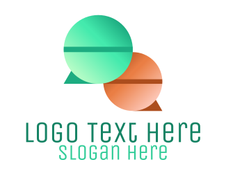 Speech Bubble - Speech Bubble Pills logo design