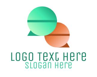 Speech Bubble - Speech Bubble Pills logo design