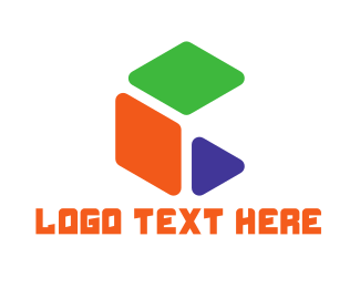 Generic - Abstract Cube logo design