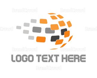 Language - Global Panels logo design