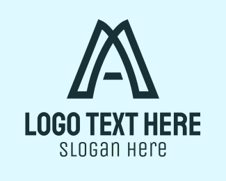 Simple - Simple Letter A logo design