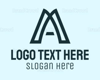 Simple - Simple Letter A logo design