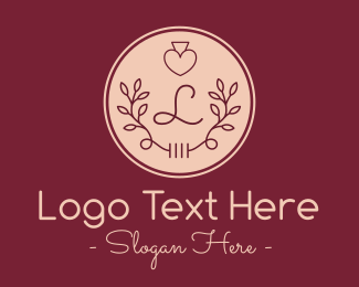 Foliage - Ornamental Lovely Lettermark logo design