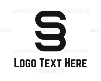 Duo - Abstract Letter S logo design