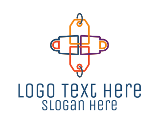 Hangtag - Price Tag Shopping Bag logo design