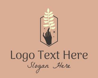 Ornamental Plants - Luxury Beauty Hand  logo design