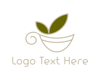 Matcha - Green Tea logo design