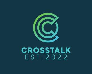 Random Green Letter C logo design
