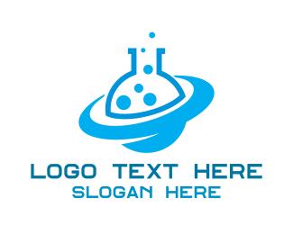 Chemical - Blue Planet Chemical Laboratory logo design