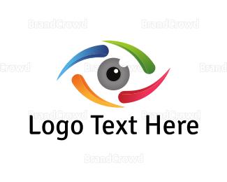 Sight - Spiral Eye logo design