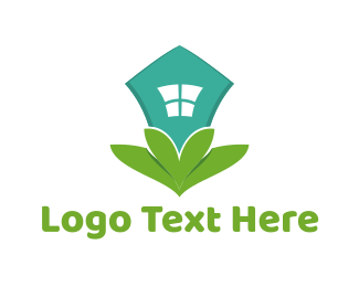 Eco Energy - Eco House logo design