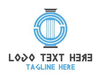 Greece - Greek Column logo design