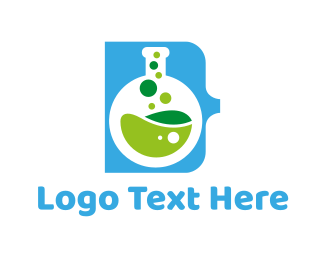 Toxic - Test Tube logo design