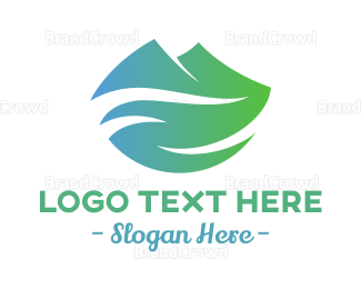 Healthy - Green Landscape logo design