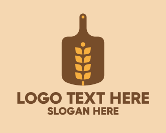 Board - Wheat Bread Board  logo design