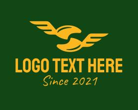 Authority - Golden Military Rank logo design