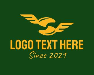 Rank - Golden Military Rank logo design