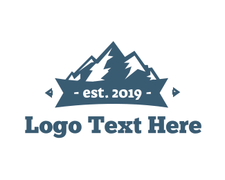 Alpine - Blue Mountains logo design