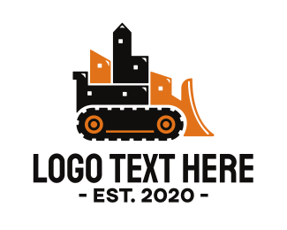 Construction - Construction Earthmover logo design