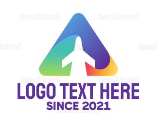 Triangle - Triangle Jet logo design