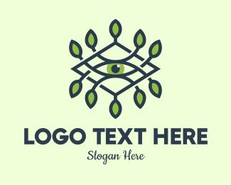 Produce - Eye Herbal Therapy logo design