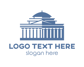 Banking - Thomas Jefferson Memorial logo design