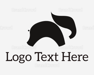 Simple - Simple Elephant Silhouette logo design