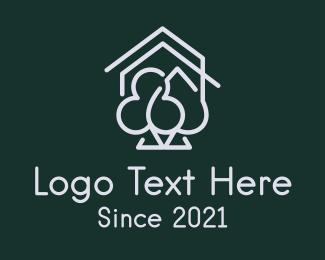 Las Vegas - Casino House Cards logo design