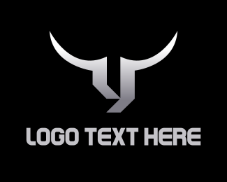 Cattle - Silver Bull logo design