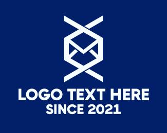Courier - Mail Courier Service logo design