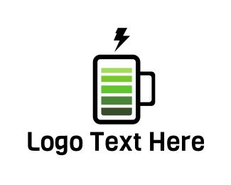 Milkshake - Energy Drink logo design