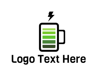 Battery - Energy Drink logo design
