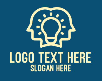 Studying - Bright Idea People logo design