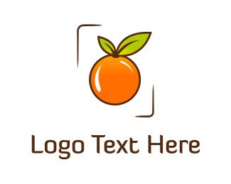 Fresh - Orange Frame logo design