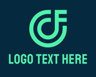 Fc - C & F Monogram Gaming logo design