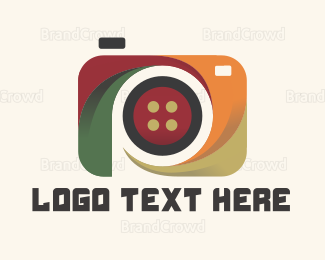 Picture - Abstract Camera logo design