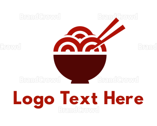 Catering - Red Ramen Noodles logo design