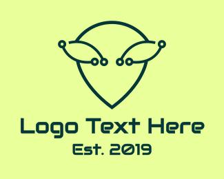Alien - Alien Tech logo design