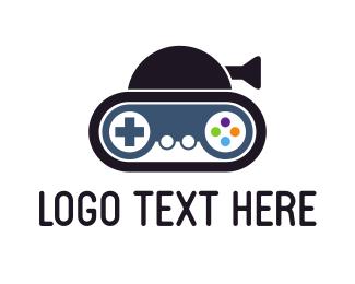 Game Developer - Gaming Tank logo design