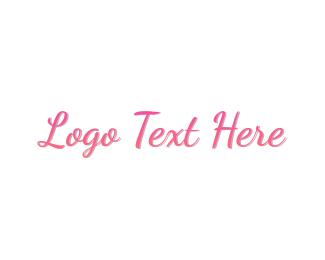 Stylish Pink  Logo