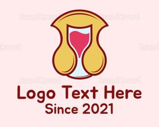 Breast - Golden Arch logo design