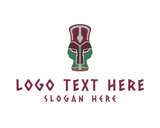Chief - African Totem logo design