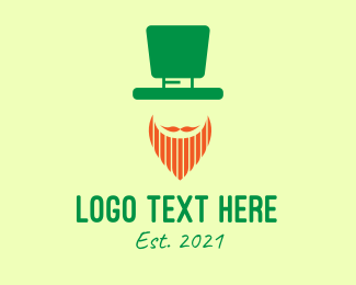 Leprechaun Hat - Saint Patrick's Day Costume  logo design