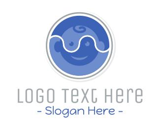 Nursery - Baby Circle logo design