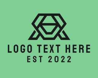Letter - Letter A Company logo design