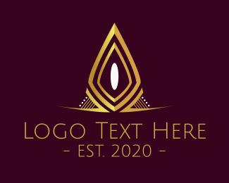 Tiara - Golden Tiara logo design