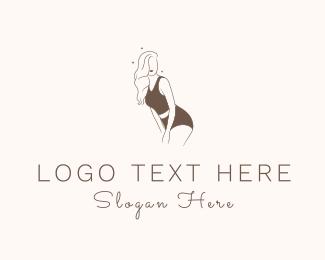Underwear - Woman Underwear  logo design