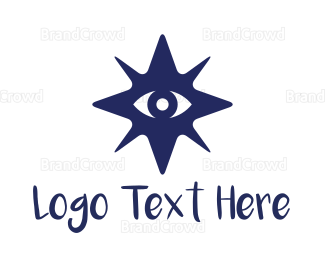 Eye Care - Star Eye logo design